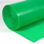 *ON SALE $78.00/ROLL* BUBBLE 3/16″X48″X500′ NON PERFED GREEN