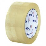 *ON SALE $100.00/CS* CARTON SEALING TAPE 48MMX914M COLD TEMPERATURE MEDIUM GRADE HOT MELT  6/CASE F4319 7151QT