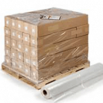 *ON SALE $80.00/RL* PALLET SHRINK BAG 44″X44″X84″ 4MIL 30/ROLL