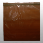 *ON SALE $228.65/CS* SEAL TOP 16″X20″ 3MIL AMBER POLY BAG 500/CS